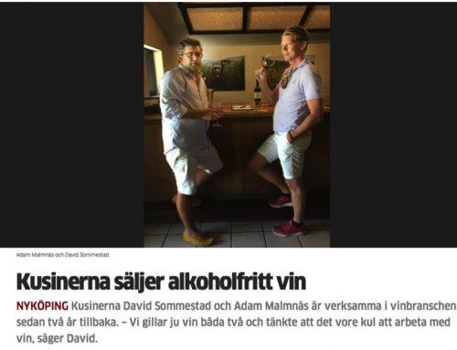 Kusinerna säljer alkoholfritt vin – sn.se