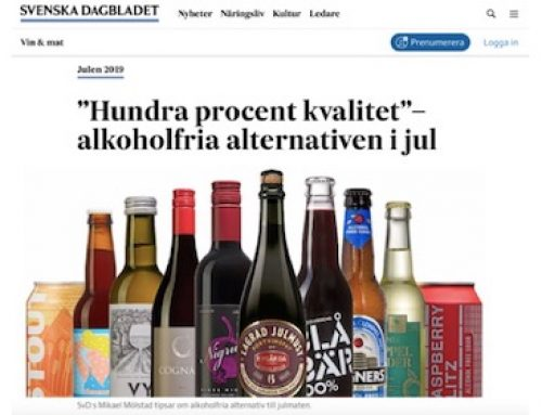 Cognato Red rekommenderas av Svenska Dagbladet